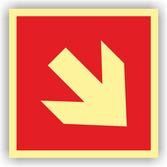 brandschutzschilder-richtungsangabe-schraeg-kunststoff